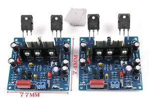 LJM- MX50 100W +100W SE Power amp kit Stero Amplifier kit DIY