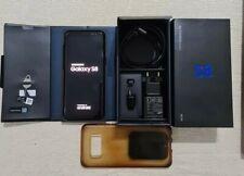 Samsung Galaxy S8 SMG950F 64GB Black Sbloccato funzionante piccola rottura vetro