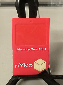 Nyko 59B Memory Card for Nintendo Game Cube System (tested)