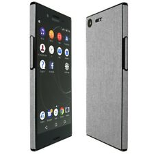 Skinomi Brushed Aluminum Skin+Clear Screen Protector for Sony Xperia X