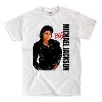 Michael Jackson - Bad - White Shirt - Ships Fast! High Quality!