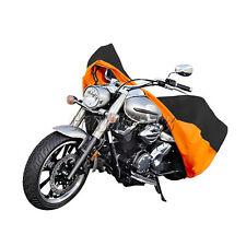 XXL Orange Motorcycle Cover Fit Harley Davidson Heritage Softail Classic FLSTC