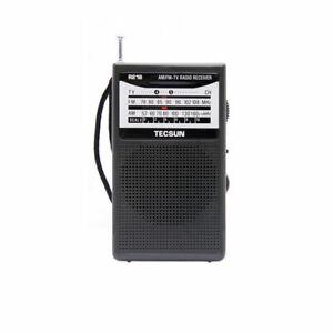 TECSUN R-218 Pocket Radio Mini FM AM TV Band Shortwave Portable Receiver