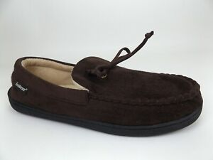 Isotoner  Moccasin Comfort Slipper Women's Size 11-12 M, Brown, NEW  17879
