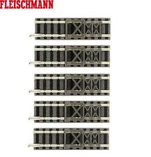 Fleischmann N 9116-S Tampon butée piste 57,5 mm (5 Pièces) - NEUF