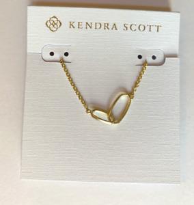 Kendra Scott Matte 14k Gold Plated Brass Sawyer Pendant Necklace