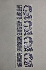 $0.03 Cents Francis Parkman American Historian Stamps  Block of 4