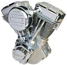 Jireh Cycles Fat Bastard Natural 131c.i EVO Engine for Harley 84-99 and Customs