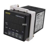 SESTOS 110V 220v Digital PID Temperature Controller Thermometer D1S-CR-220