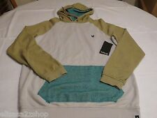 Hurley superior hoodie hoody shirt long sleeve Men's large NEW salt MFT0002590