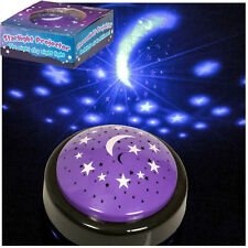 STARLIGHT PROJECTOR TOY LAMP PROJECTS STARS MOON SPACE CHILD NURSEY NIGHT LIGHT