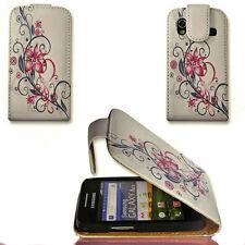 Design 4 Custodia Flip Cover Case Cellulare Astuccio Per Samsung s5830 Galaxy Ace