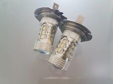 HONDA CIVIC 2006+ SET 2 x H7 CREE 16 LED HEADLIGHT BULBS FOG LIGHTS BEST QUALITY