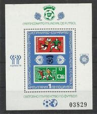 Bulgarie Bulgaria  ** MNH YT BF83A  foot ball soccer RARE Argentina 78