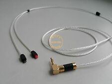 1.2m OCC Silver Plated Cable Audio Technica ATH-IM50/IM70/IM01/IM02/IM03/IM04