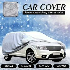 15.4x5.9x6FT Full Car SUV Cover Waterproof UV Snow Rain Resistant Protection US