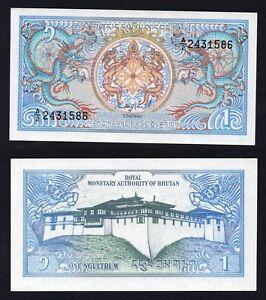 Bhutan 1 ngultrum 1986 FDS/UNC  A-01