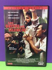 LOS GRITOS DEL SILENCIO - DVD- USADO GARANTIZADO