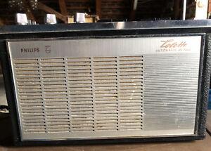 Kofferradio PHILIPS Colette Automatic de Luxe. Ersatzteile, defekt