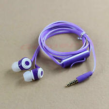 Stereo In-ear 3.5mm Headphone Earphone Headset Earbuds With Mic for Mobile Phone