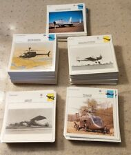 Edito-Service S.A. Military Aviation Warplanes Cards Box Set About 798 Cards VTG