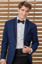 Jean Yves Sapphire Calypso  tuxedo 38R/31 Prom/wedding Stand out from the crowd