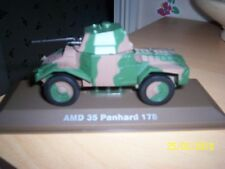 ATLAS EDITIONS 1/43 SCALE WW2 FRENCH AMD 35 PANHARD 178 ARMOURED CAR