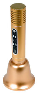 Vocopro CarryOkeBell Bluetooth Karaoke Microphone with Speaker