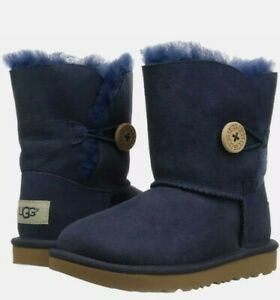 UGG Bailey Button II Toddlers BOOT Navy 1017400T-NAVY SIZE 9