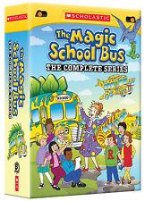 The Magic School Bus - Complete DVD Series Seasons 1 2 3 & 4 New Sealed Set 1-4