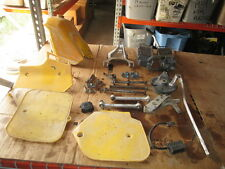 Suzuki 1984 RM125 Gas Tank CDI Radiator Front & Rear Axle Side Cover Parts Lot