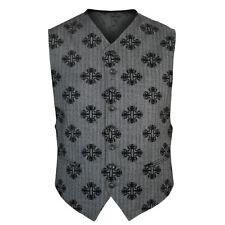 ANN DEMEULEMEESTER $992 gray Bryn Farandole gilet vest waistcoat jacket L NEW