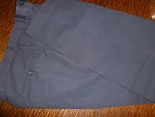 GIORGIO ARMANI PURE WOOL NAVY  TROUSERS  UK  34W   33L MADE IN ITALY