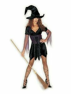 Witchy Witch Fancy Dress Costume Shirley of Hollywood Halloween Sexy Wicked