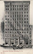 WV   WHEELING -- Schmubach Building postcard