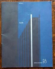 Bang & Olufsen BEOVISION 6  GUIDE,  (B&O) 50 PAGES, INCLUDING CD GUIDE  AS WELL.