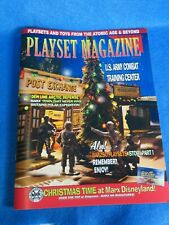 playset magazine #86 March 2016 Marx header card sets and more