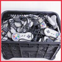 Junk lot of 50 Nintendo Super Famicom Controller SFC gray untested Japan game
