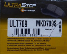 BRAND NEW ULTRA STOP REAR BRAKE PADS MKD709S / D709 FITS VEHICLES ON CHART
