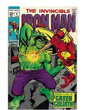 The Invincible Iron Man #9 VF+ Marvel (Jan, '69) -SilverAge-