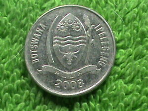 BOTSWANA 10 Thebe 2008