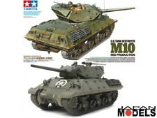 U.S TANK DESTROYER M10 Mid Production 3 Figures1/35 Tamiya 35350 Model Kit New