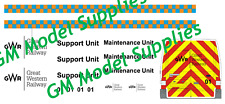 00 1:76 Waterslide Transfers Ford Transit Code 3 GWR 2017/18
