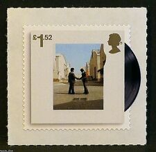 """""""Pink Floyd - Wish You Were Here"""" Album Cover on 2016 stamp - U/M"""