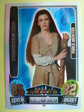 Force Attax Star Wars Serie 3 (2013 rot), Prinzessin Leia (227), Force Meister