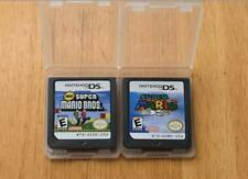A lot of 2 Super Mario 64 DS+New Super Mario Bros Cards for Nintendo 3DS XL NDSI
