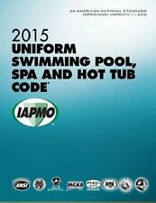 2015 Uniform Swimming Pool, Spa and Hot Tub Code Book in Soft Cover - New