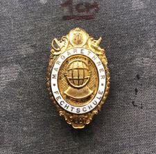 New listing OLD FENCING FECHTEN MARGARETHNER FECHTSCHULE AUSTRIA 1907 BUTTON HOLE PIN BADGE!