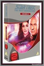STAR TREK THE NEXT GENERATION - COMPLETE SECOND SEASON-  **BRAND NEW DVD**