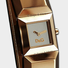 DOLCE&GABBANA Uhr Armbanduhr D&G Markenuhr DANCE Damen Leder Roségold DW0271